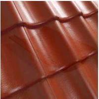 Цементно-песчаная черепица Benders Exklusiv / Бендерс Ексклюзив матовый коричневый