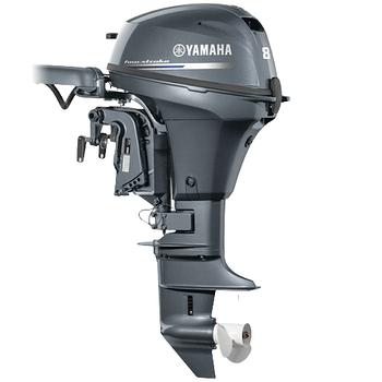 Лодочный мотор Yamaha F8 FMHS -  подвесной мотор для яхт и рыбацких лодок