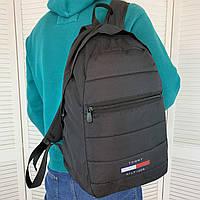 Мужской портфель Tommy Hilfiger Томми Хилфигер из ткани оксфорд Качественный удобный классический рюкзак