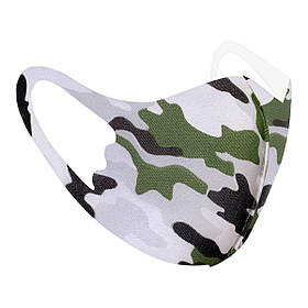 Захисна маска Pitta Military PС-M, розмір: дитячий, military, зелений