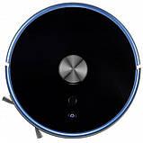 Робот пилосос з вологим прибиранням Viomi S9 Black, фото 2