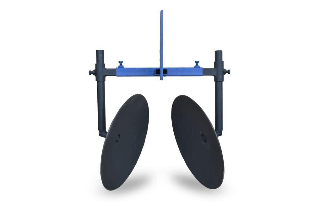 Дисковый окучник ф 350мм на двух подшипниках, используется для мотоблока