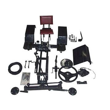 Комплект для переобладнання переробки мотоблока в мінітрактор (базовий) з дисковими гідра. гальмами AMG