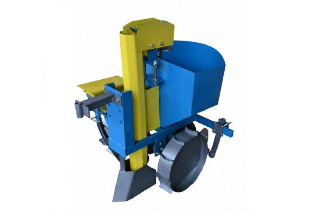 Картофелесажалка для мотоблока КСЦ-3 (AGROLUXE)
