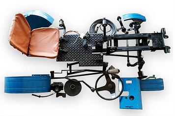 Комплект для переробки мотоблока в трактор (комплект EXPERT-2)