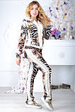 Велюровый женский спортивный турецкий костюм EZE купить разм 50,52,54,56, фото 4