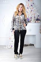 Велюровый женский турецкий костюм EZE купить разм 50,52,54,56