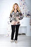Жіночий велюровий турецький спортивний костюм EZE купити розм 50,52 баталов, фото 3