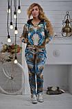 """Жіночий велюровий турецький костюм """"Bezlo"""" ; розм 42,44,46,48, фото 3"""