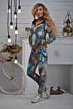 """Жіночий велюровий турецький костюм """"Bezlo"""" ; розм 42,44,46,48, фото 4"""
