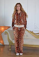 Женский турецкий спортивный костюм из велюра,  разм 42,44,46,48