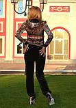 Брендовий велюровий турецький костюм 42,44,46 розм, фото 3