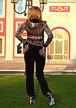 Брендовый велюровый турецкий костюм 42,44,46 разм, фото 3