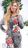 Велюровый женский турецкий костюм EZE купить разм 42,44,46, фото 3