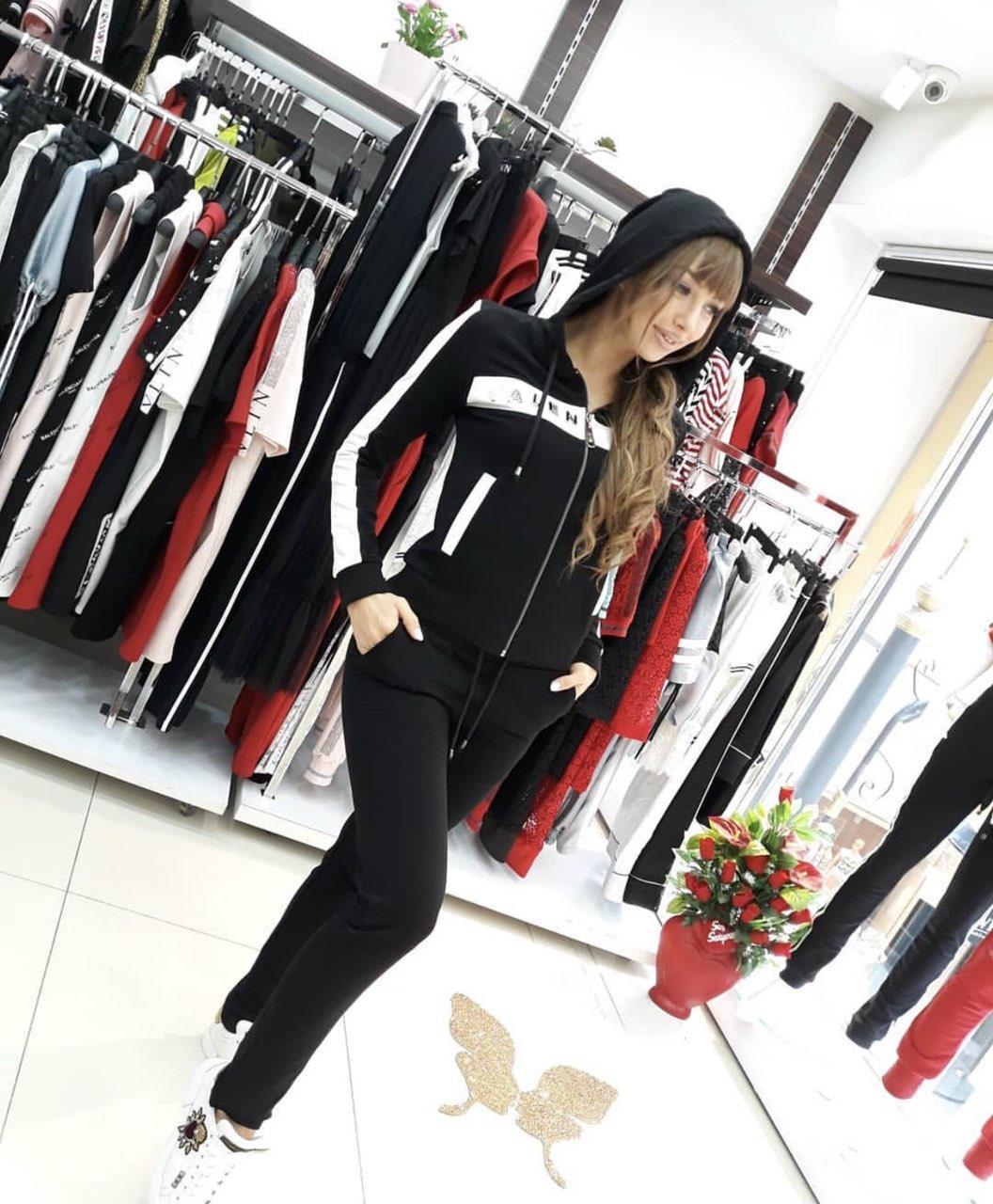 Женский брендовый спортивный костюм (Турция,Valentino ); разм 36,38,40
