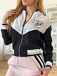 Жіночий брендовий спортивний костюм (Туреччина,RAW); розмір С,М,Л,ХЛ, фото 4