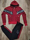 Жіночий спортивний трикотажний костюм 3-ка (Туреччина); розмір С,М,Л,ХЛ,ХХЛ, 3 кольори, фото 5