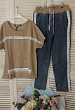Женский спортивный  костюм с джинсами *Signet*,(Турция); разм С,М,Л,ХЛ норма, фото 3