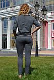 """Жіночий спортивний літній костюм """"Megi"""" з трикотажу (Туреччина); розм 44, 46,48, 2 кольори, фото 2"""