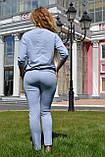 """Жіночий спортивний літній костюм """"Megi"""" з трикотажу (Туреччина); розм 44, 46,48, 2 кольори, фото 4"""