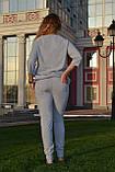 """Жіночий спортивний літній костюм """"Megi"""" з трикотажу (Туреччина); розм 44, 46,48,50, фото 2"""