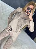 Жіночий річний брендовий спортивний костюм (Туреччина); Розміри:44-46;46-48;48-50, 4 кольори, фото 3