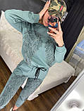 Жіночий річний брендовий спортивний костюм (Туреччина); Розміри:44-46;46-48;48-50, 4 кольори, фото 6
