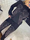 Женский летний  брендовый спортивный костюм (Турция); Размеры:44-46;46-48;48-50, 4 цвета, фото 2