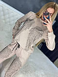 Женский летний  брендовый спортивный костюм (Турция); Размеры:44-46;46-48;48-50, 4 цвета, фото 4