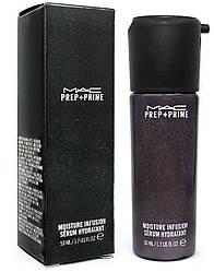 Зволожуюча сироватка-база для обличчя MAC Prep+ Prime Moisture Infusion Serum Hydratant 50 ml(прим'ята упаковка)