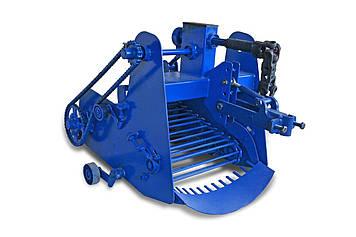 Картоплекопалка КМ-5(ВМО) транспортерна з активним ножем для мотоблока (AGROMARKA)