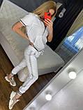 Женский летний костюм (Турция); разм С,М,Л,ХЛ полномерные, 4 цвета, фото 7
