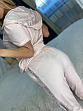 Женский летний костюм (Турция); разм С,М,Л,ХЛ полномерные, 4 цвета, фото 10