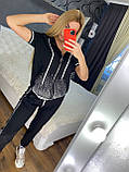 Женский летний костюм  *Cignet* (Турция); разм С,М,Л,ХЛ полномерные, 4 цвета, фото 2