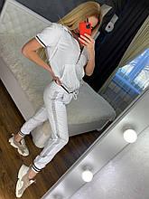Женский летний костюм  (Турция); разм С,М,Л,ХЛ полномерные, 4 цвета