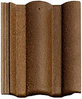 Цементно-песчаная черепица Braas / Браас Адрия Слари коричнево-золотой, фото 1