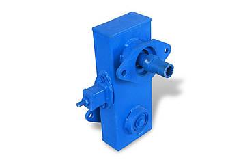 Переходник - ходуменьшитель оборотов фрезы (цепной) для фрезерного культиватора Мотор Сич