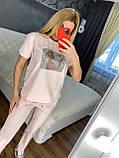 Женский летний костюм  (Турция); разм С,М,Л,ХЛ полномерные, 3 цвета, фото 4