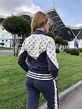 Женский брендовый турецкий спортивный костюм; разм С,М,Л,ХЛ, фото 4