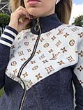 Женский брендовый турецкий спортивный костюм; разм С,М,Л,ХЛ, фото 5