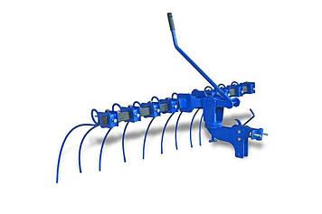 Грабли для мотоблока с подъёмным механизмом ГРП-1,2 серии MODERN