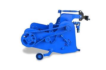 Картофелекопалка КМ-5(ВОМ) транспортерная с активным ножем для мотоблоков Мотор Сич и аналогов (AGROMARKA)