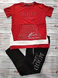 Жіночий літній костюм з брюками з трикотажу *Cignet* (Туреччина); розмір ХЛ---4ХЛ, 7цветов, фото 4