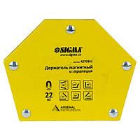 Магніт для зварювання трапеція [22 кг] SIGMA 4270351