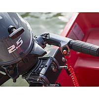 Лодочный мотор Yamaha F2.5 BMHS -  подвесной мотор для яхт и рыбацких лодок, фото 5
