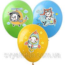 Латексні повітряні кульки, Звірятка 100шт/уп ZV-9 ArtShow