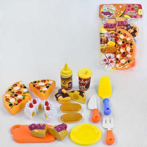 Игровой набор FUN GAME Продукты на липучках Хороший повар