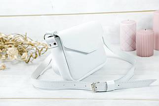 Сумочка Лилу, Гладкая кожа, цвет Белый, фото 2