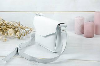 Сумочка Лилу, Гладкая кожа, цвет Белый, фото 3