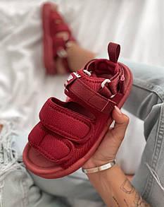 Жіночіі Босоніжки New Balance Sandals Bordo